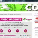 Fue puesta en servicio la página institucional coronavirus.tulancingo.gob.mx