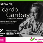 Recordaron natalicio de Ricardo Garibay