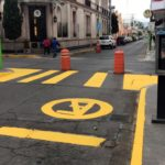 Gobierno que avanza mejora imagen urbana en calles del primer cuadro de Tulancingo