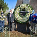 Guardia de honor por el 37º aniversario luctuoso de El Santo el Enmascarado de Plata