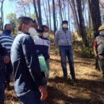 Autoridades de CONAFOR y municipales realizaron recorrido en ejido Tulancingo