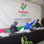Mandatario Jorge Márquez Alvarado encabezó trabajos de la segunda sesión extraordinaria de la junta de gobierno del organismo operador CAAMT
