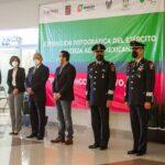 Alcalde Jorge Márquez Alvarado y autoridades de la 18/a. Zona militar inauguraron exposición fotográfica