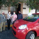 Fundación Nicolás García de San Vicente entregó auto de la rifa