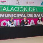 Instalaron el comité municipal de salud (COMUSA)