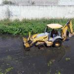 Gobierno municipal inicia limpieza de río en Tulancingo