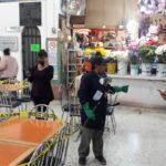 """Realizan fumigación del mercado municipal """"Gilberto Gómez Carbajal"""""""
