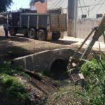 Avanzan trabajos de limpieza y desazolve del dren San Basilio