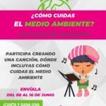 Invitan a usuarios a explotar talento en concurso de canciones por el día mundial del medio ambiente