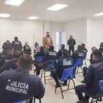 Policías municipales de Tulancingo se capacitan en temas de justicia penal