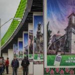 Alcalde de Tulancingo inauguró puente peatonal bicentenario