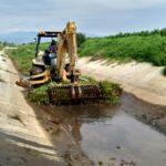 Avanzan trabajos de limpieza y desazolve de los drenes pluviales en Tulancingo