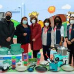 Se donaron artículos de cocina, pintura y mano de obra al CAIC Juárez