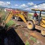 Avanza limpieza y desazolve de drenes de Tulancingo