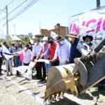 Presidente JMA aperturó obras en medias tierras y colonia San Juan