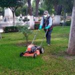 Más de 10 mil servicios realizados por parques y jardines en el periodo enero septiembre
