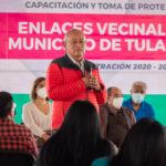 Tomaron protesta a nuevos enlaces vecinales en Tulancingo