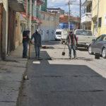 Dirección de obras públicas desarrolla labores de bacheo en Tulancingo